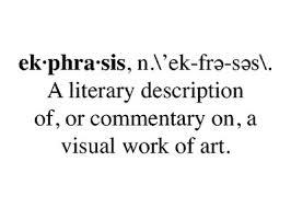 ekphrasis